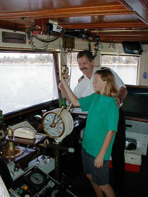 The Engine Room From Way Back: Delta Queen Steamboat Pictures